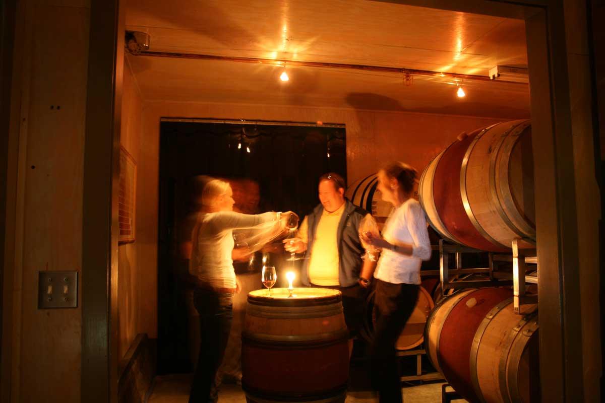 private wine tour fun