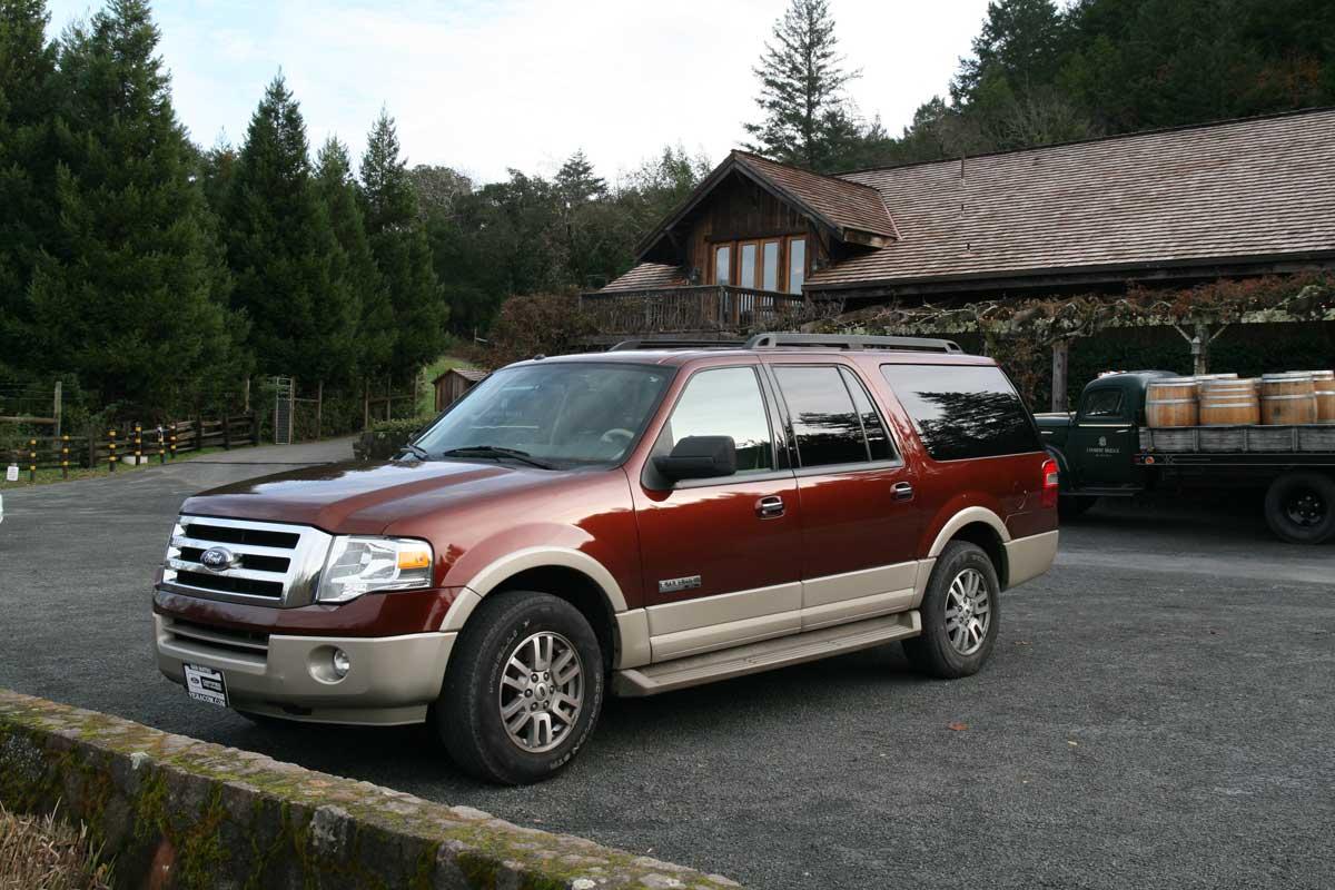 wine tour vehicle