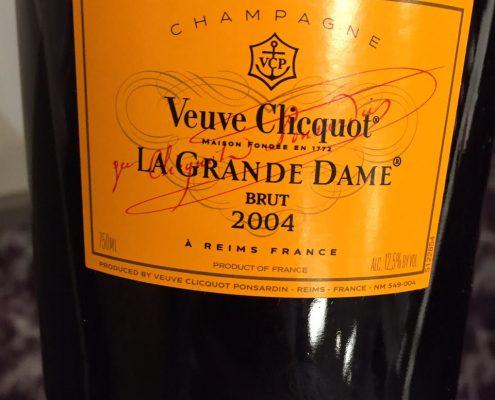 Veuve Cliquot La Grande Dame 2004