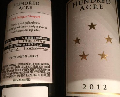 Hundred Acre 'Kayli Morgan Vineyard' Cabernet Sauvignon